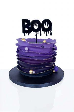 Tort de Hallowenn cu Topper Boo