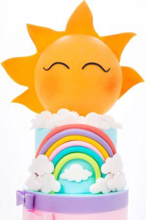 Tort Botez Soare detaliu
